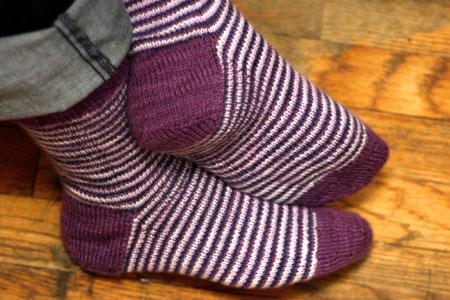 Helical Stripe Socks In 8 Simple Steps