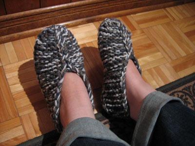 Snake Slippers: Knitting Slipper Pattern from Boye® at