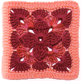 Round Crochet Granny Square Pattern | Learn to Crochet