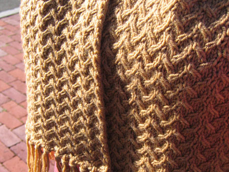 Crochet Knit Stitch Scarf : Sands Scarf Free Knitting Pattern from the Scarves Free Knitting ...